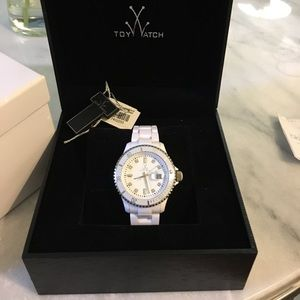 White authentic Toy watch